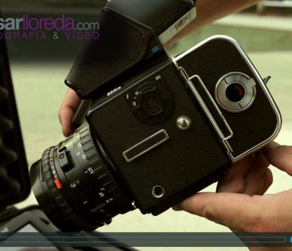 Cesar Lloreda Fotógrafo deportivo.Fotografía Deportiva con la Hasselblad 503 y un Respaldo Digital Leaf Aptus II 10R