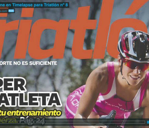 Cesar Lloreda Fotógrafo deportivo. Trek Domane en Timelapse para la Revista Triatlón nº 8