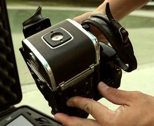Fotografía Deportiva con la Hasselblad 503 y un Respaldo Digital Leaf Aptus II. César Lloreda fotógrafo deportivo