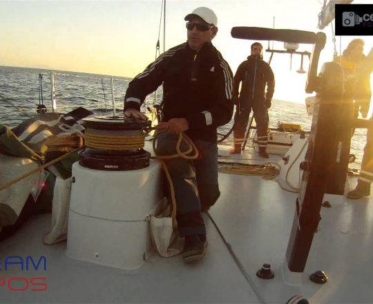 Vela Oceánica en el VO 70 'Telefónica Negro' con el Team Campos